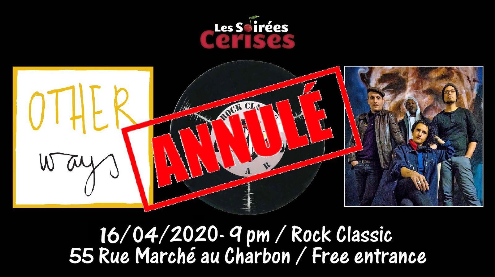 🎵 Other ways @ Rock Classic - 16/04/2020 - annulé
