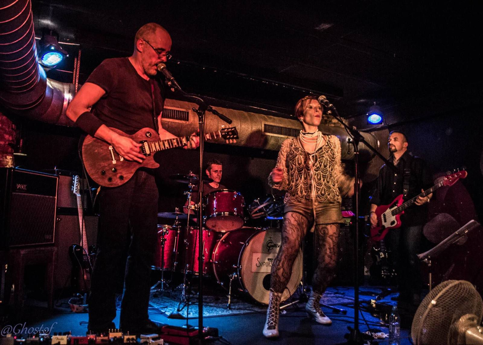 🎸 Photos - Siouxsidaires (SIOUXSIE & THE BANSHEES tribute band) @ Rock Classic - 03/06/2017