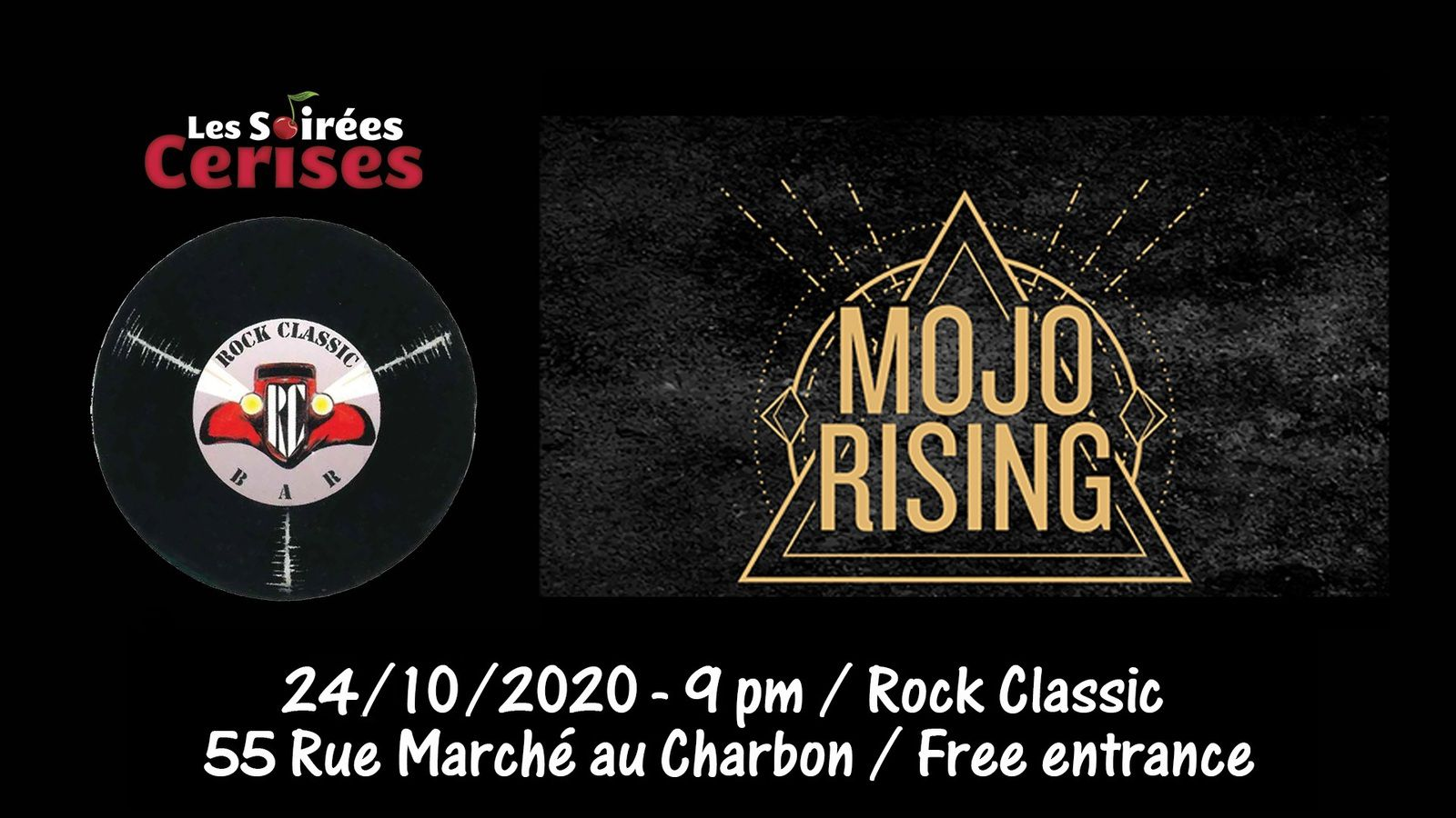 🎵 Mojo Rising (ex-This is Marylyn) @ Rock Classic - 24/10/2020 - 21h00 - Entrée gratuite / Free entrance