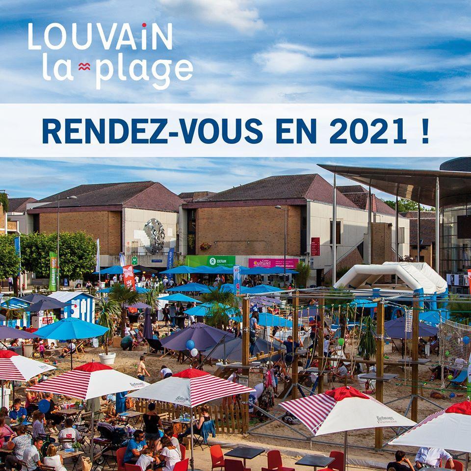🎵 Communiqué officiel : Louvain-la-plage 2020 - annulé !