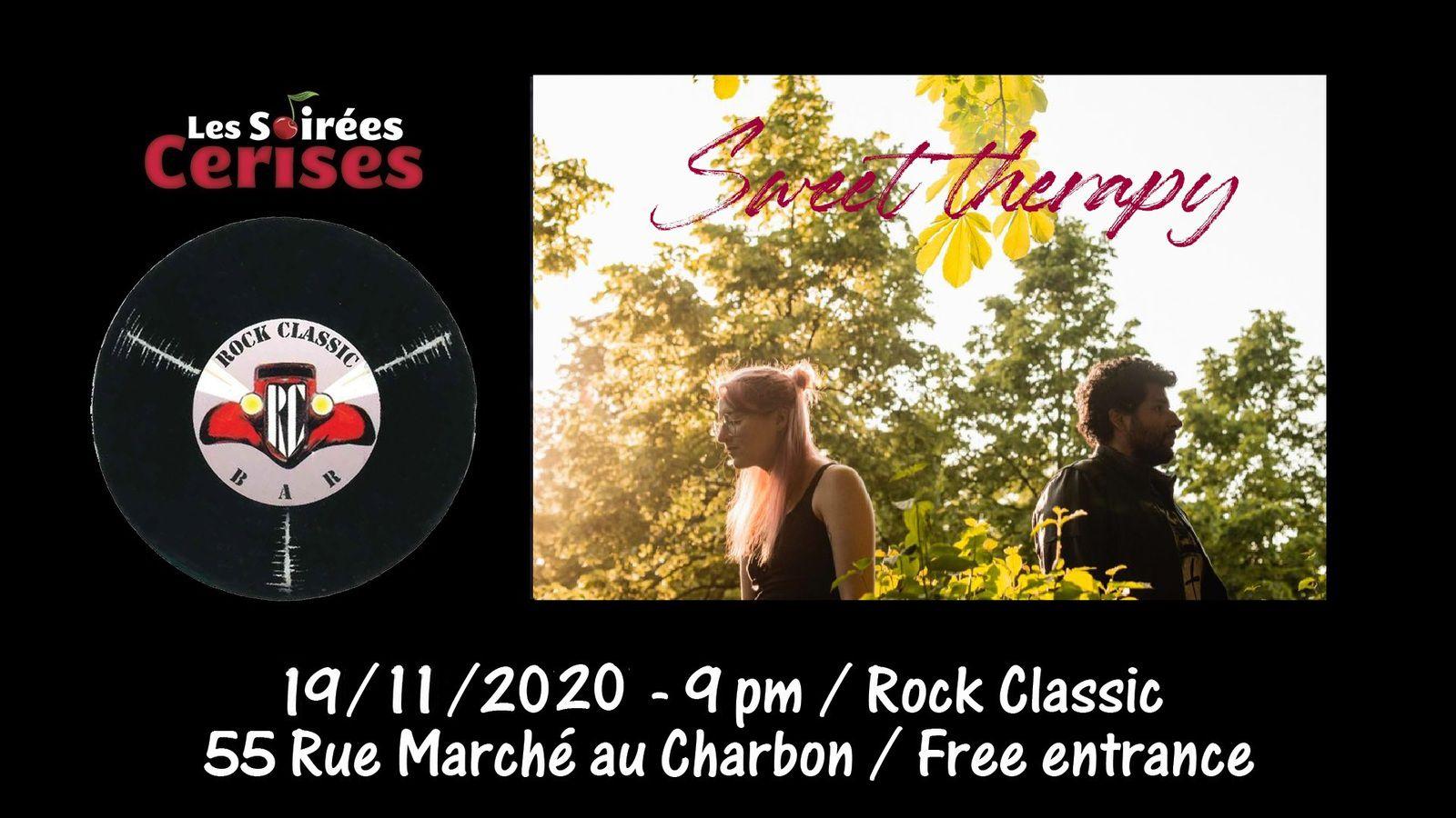 🎵 Sweet Therapy @ Rock Classic - 19/11/2020 - 21h00 - Entrée gratuite / Free entrance