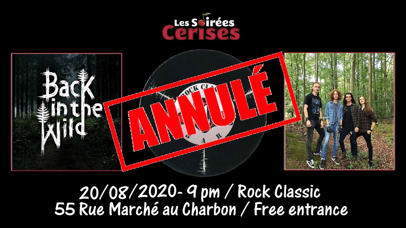 ▶ Back in the wild @ Rock Classic - 20/08/2020 - annulé !