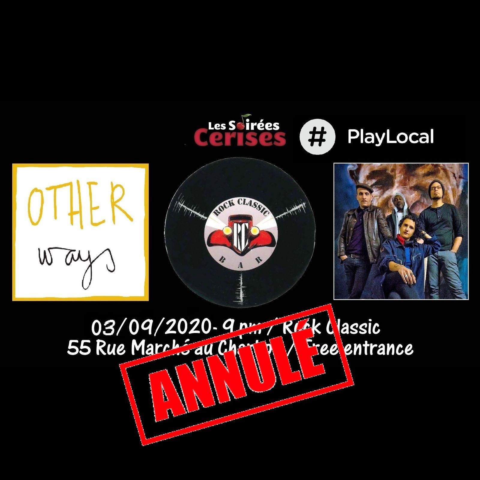 🎵 Other ways @ Rock Classic - 03/09/2020 - annulé