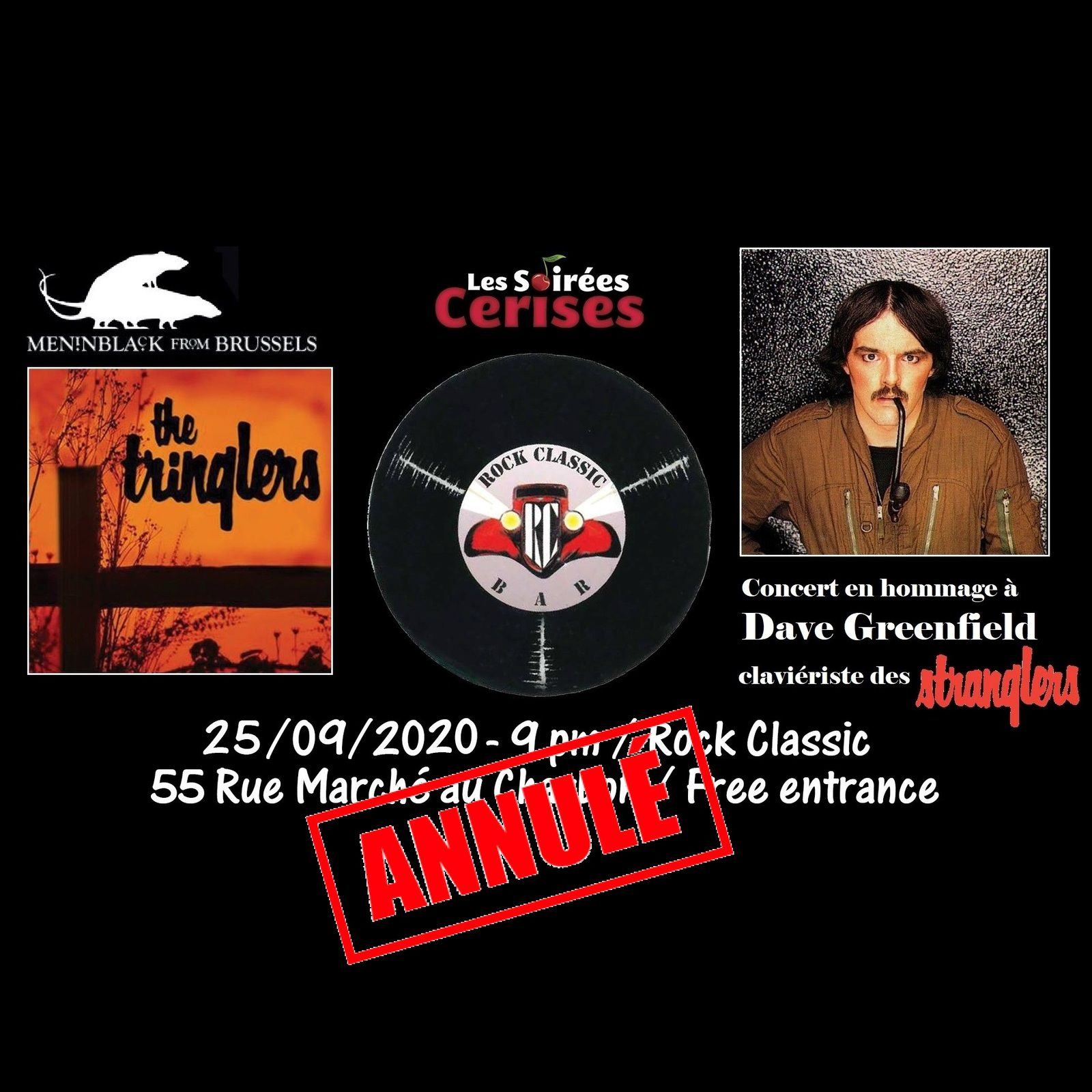 🎵 The Tringlers @ Rock Classic - 25/09/2020 - annulé