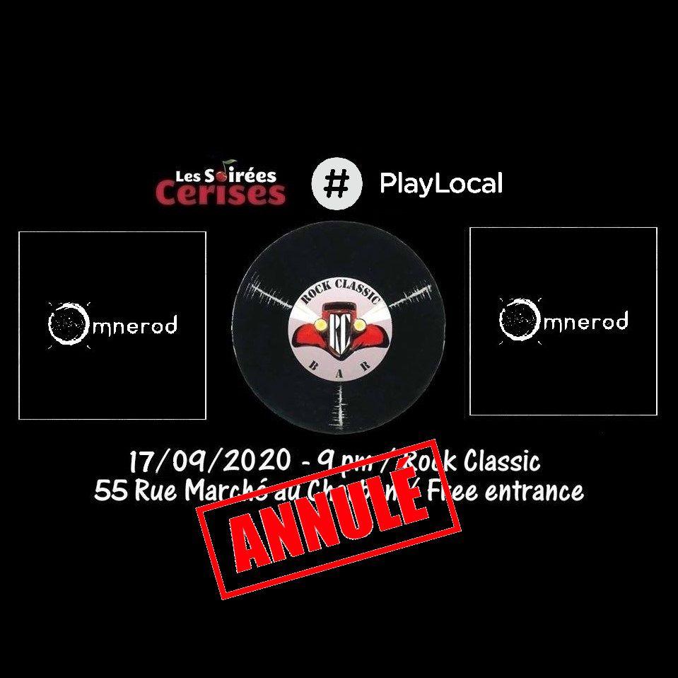 🎵 Omnerod @ Rock Classic - 17/09/2020 - annulé