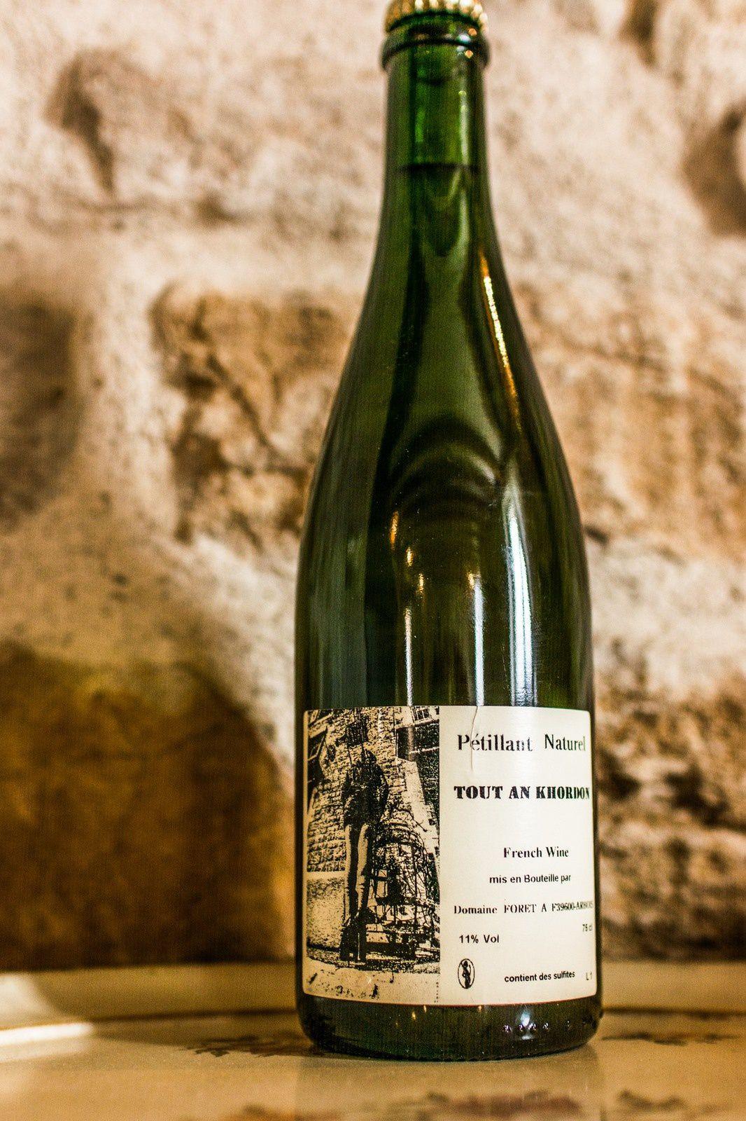 Vin pétillant Domaine Foret