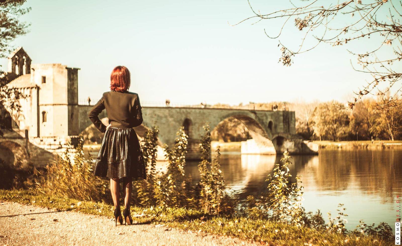 Avignon en bas nylon