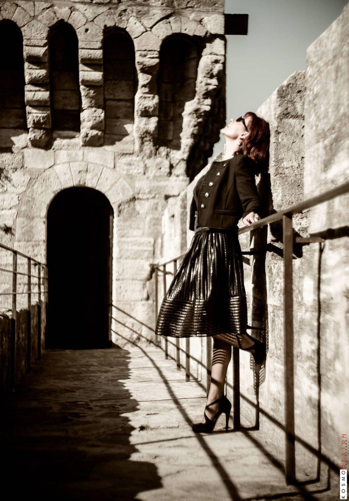 Photos prises à Avignon - bas nylon à couture