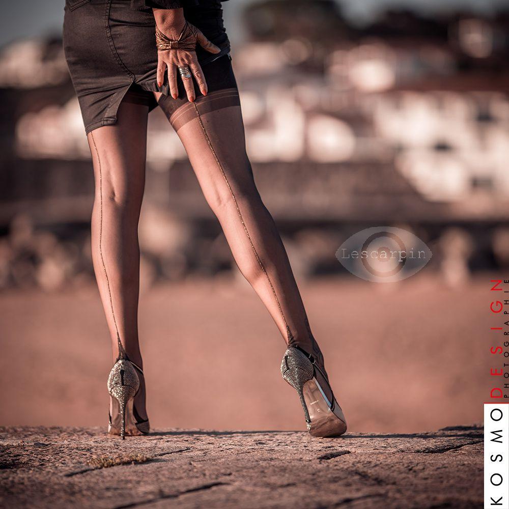 Les jambes de Lescarpin