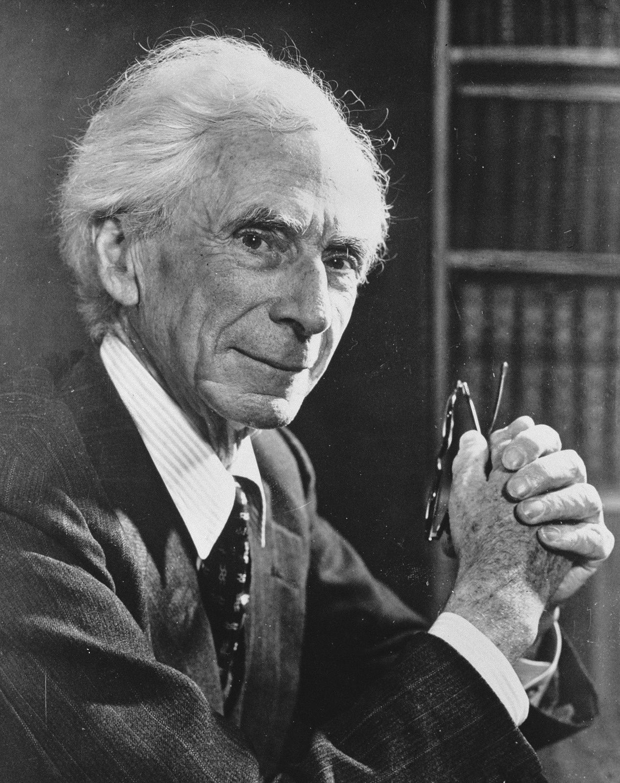 Bertrand Russell, 28 novembre 1957, photographie Onedward / Anefo