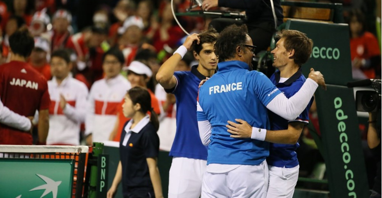 La France insubmersible contre le Japon