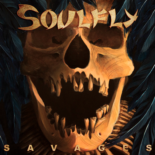 Cover from the new SOULFLY album