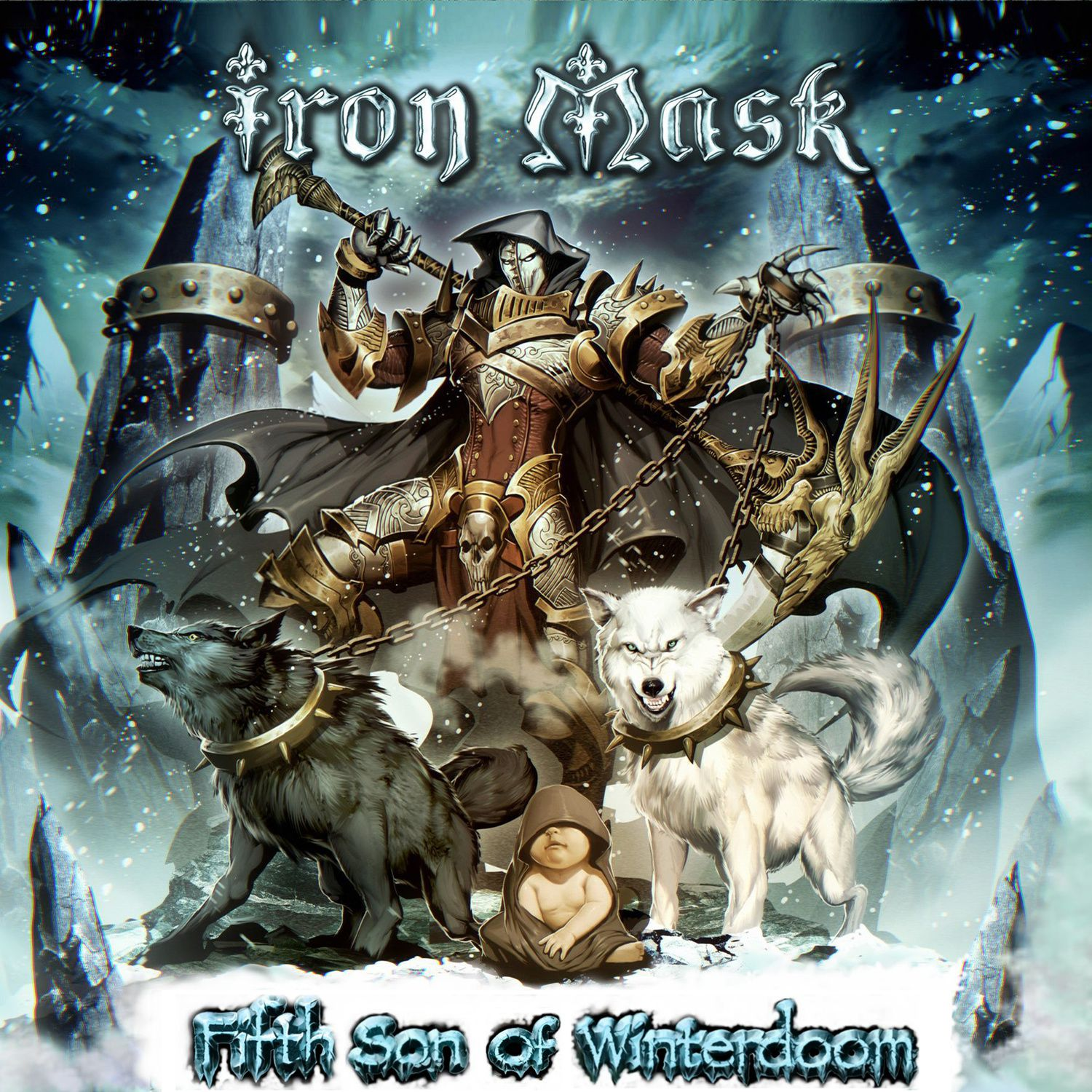 """CD review IRON MASK """"Fifth son of winterdoom'"""