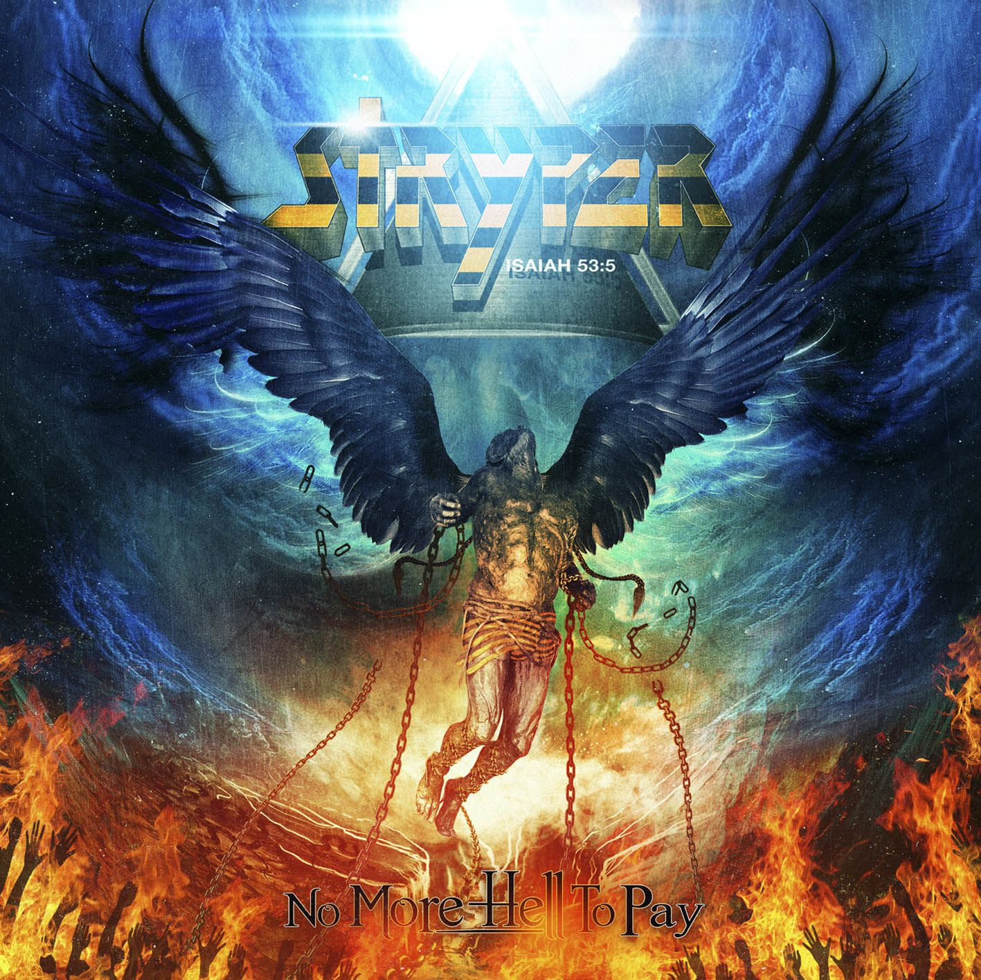 """CD review STRYPER """" No more hell to pay"""""""
