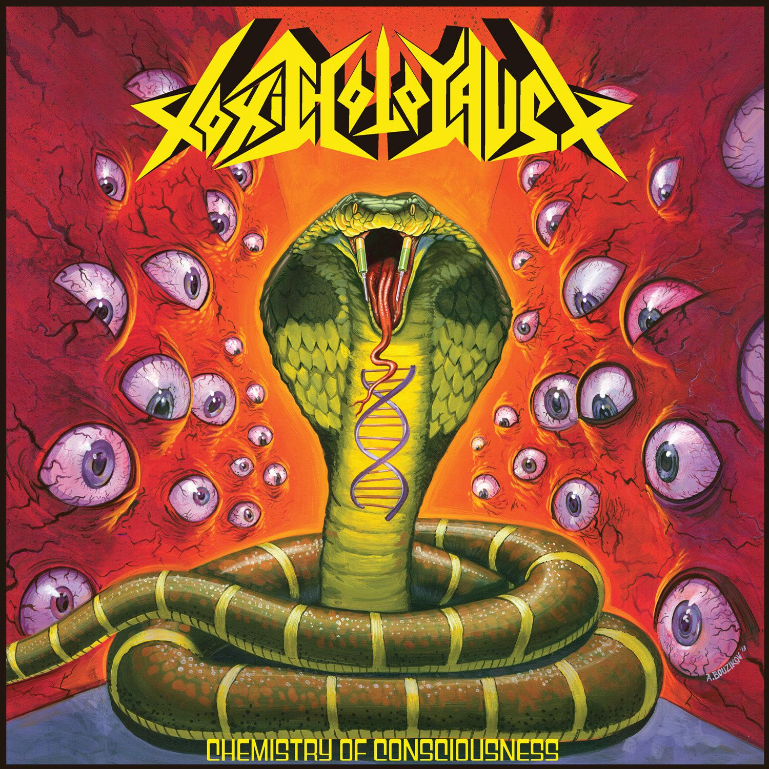 """CD review TOXIC HOLOCAUST """"Chemistry of consciousness"""""""
