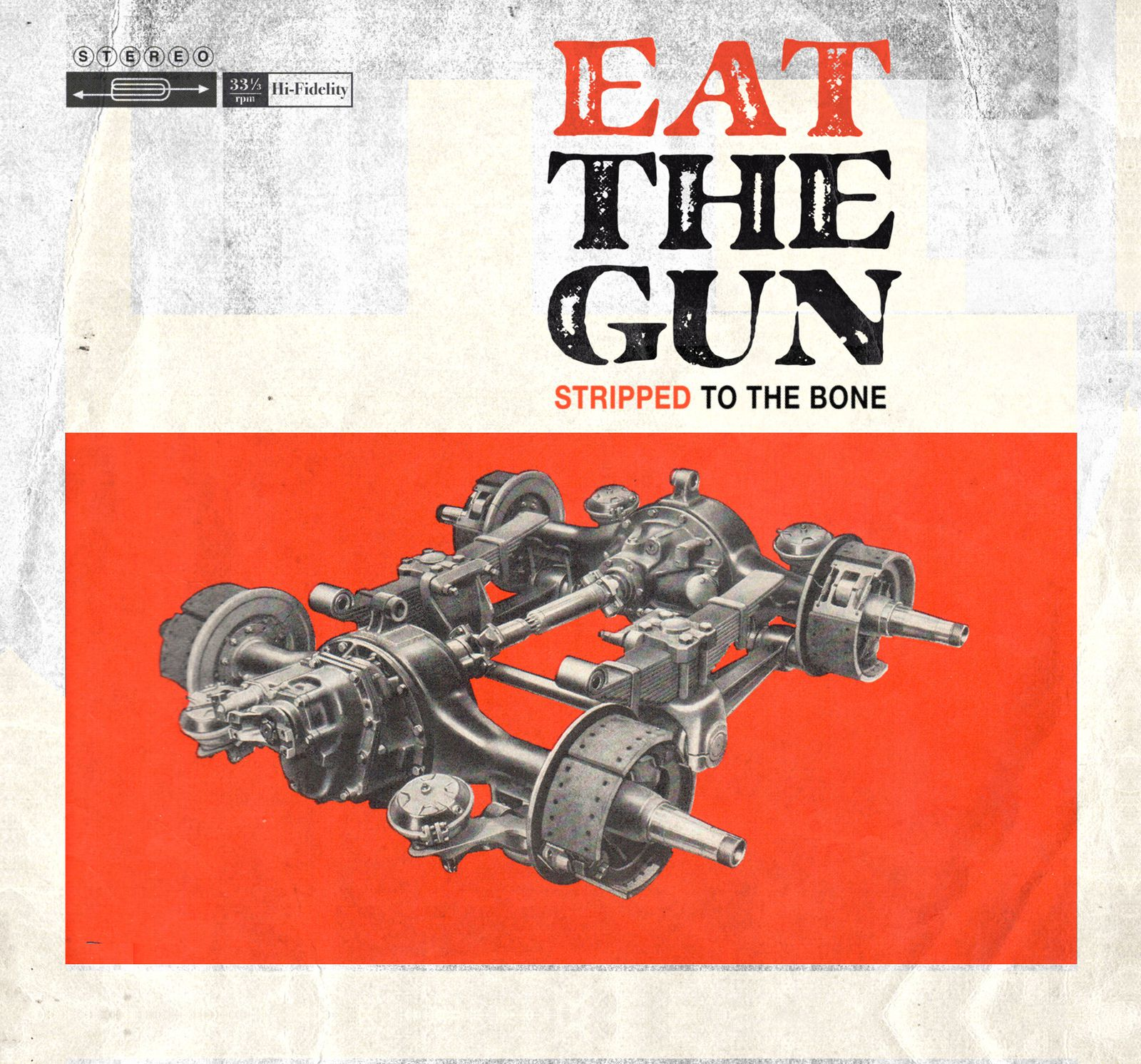 """CD review EAT THE GUN """"Stripped to the bone"""""""