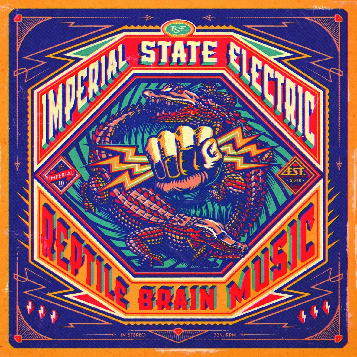 """CD review IMPERIAL STATE ELECTRIC """"Reptile brain music"""""""