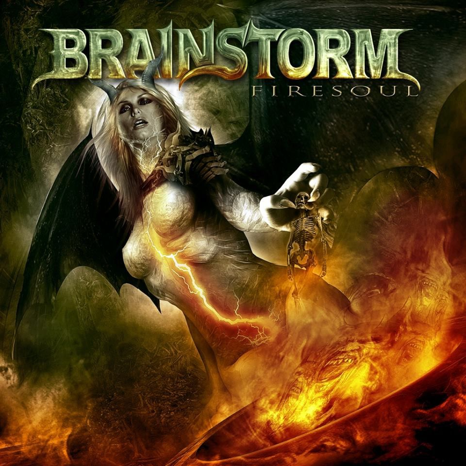 Cover and tracklist from the new BRAINSTORM album
