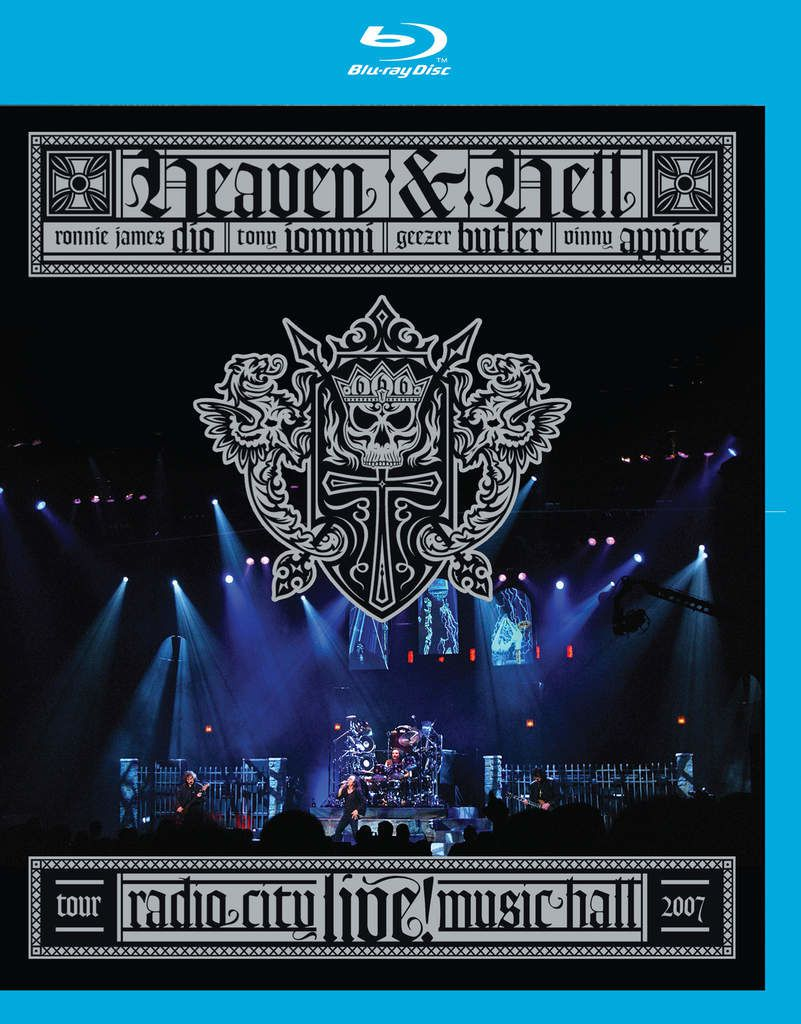 """DVD review HEAVEN & HELL """"Radio City Music Hall - live"""" re-release"""