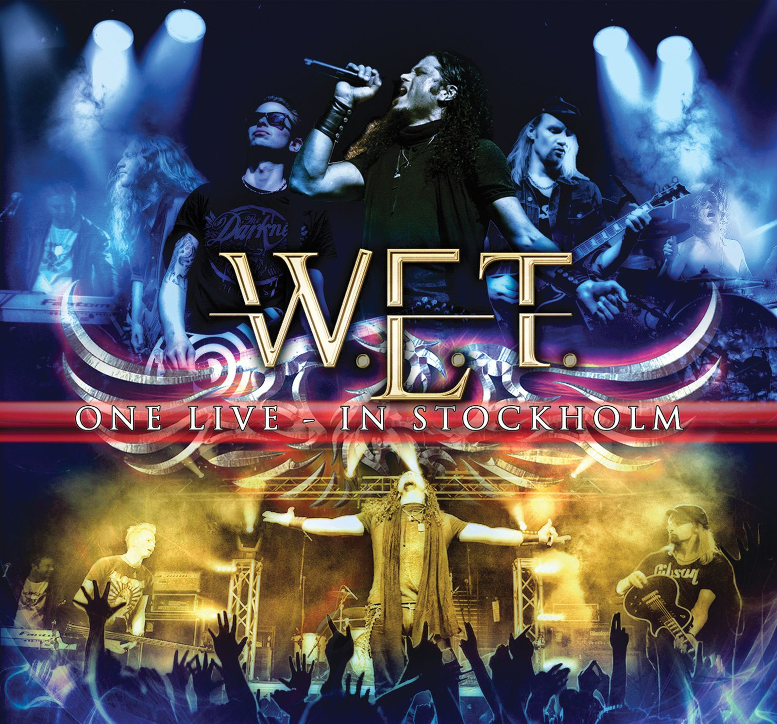 """CD review W.E.T. """"One live - in Stockholm"""""""