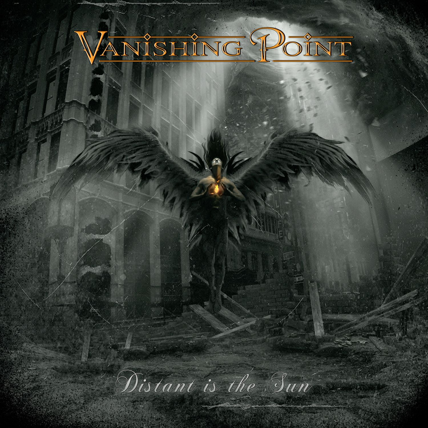 """CD review VANISHING POINT """"Distant is the sun"""""""