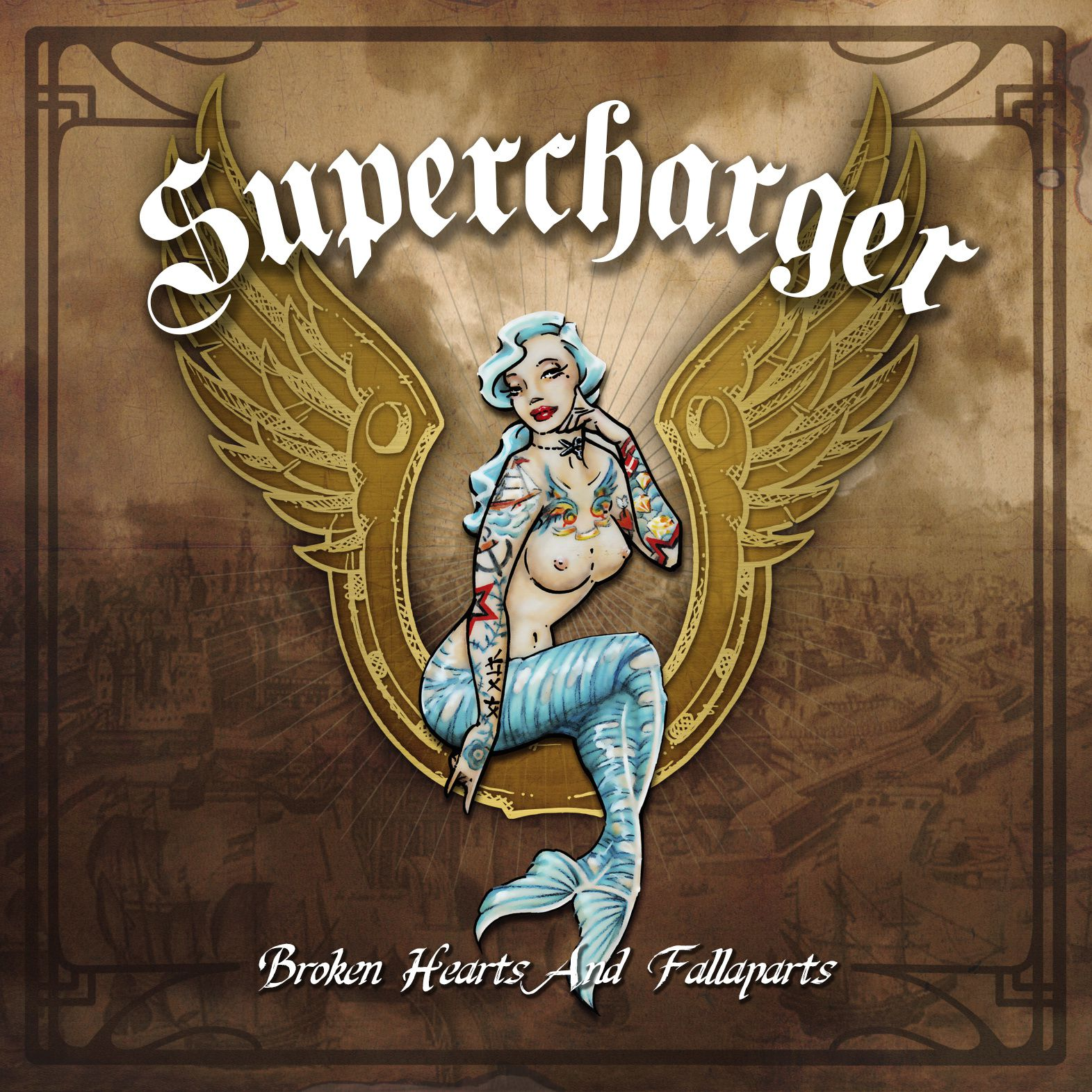 """CD review SUPERCHARGER """"Broken hearts and fallaparts"""""""