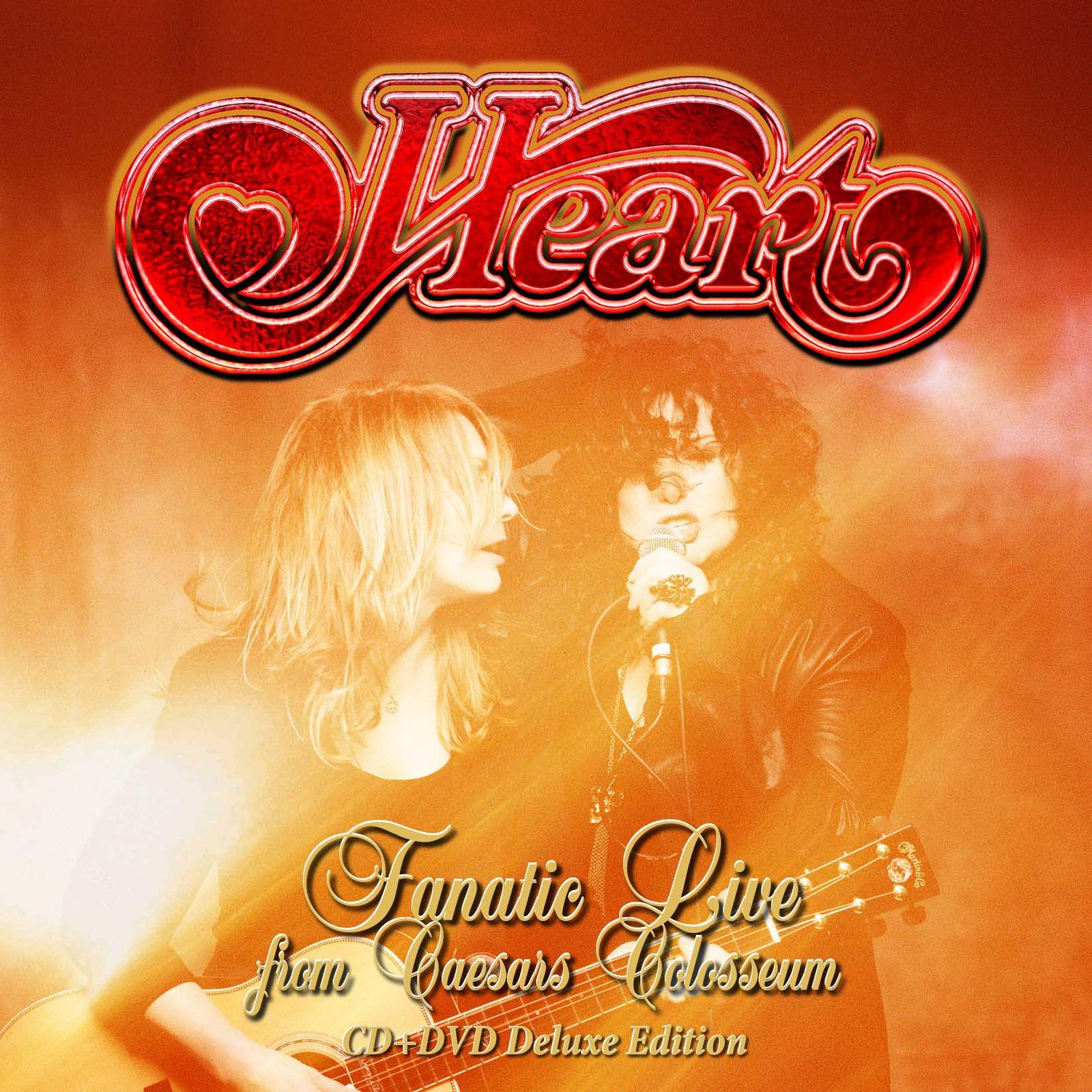 """CD review HEART """"Fanatic live from Caesars Colosseum"""""""