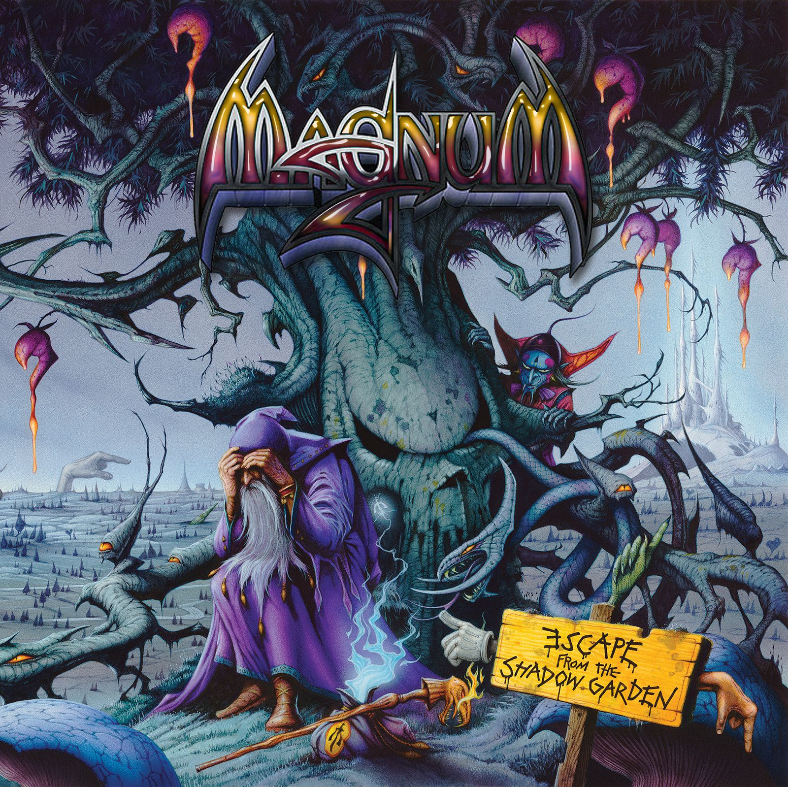 """CD review MAGNUM """"Escape from the shadow garden"""""""