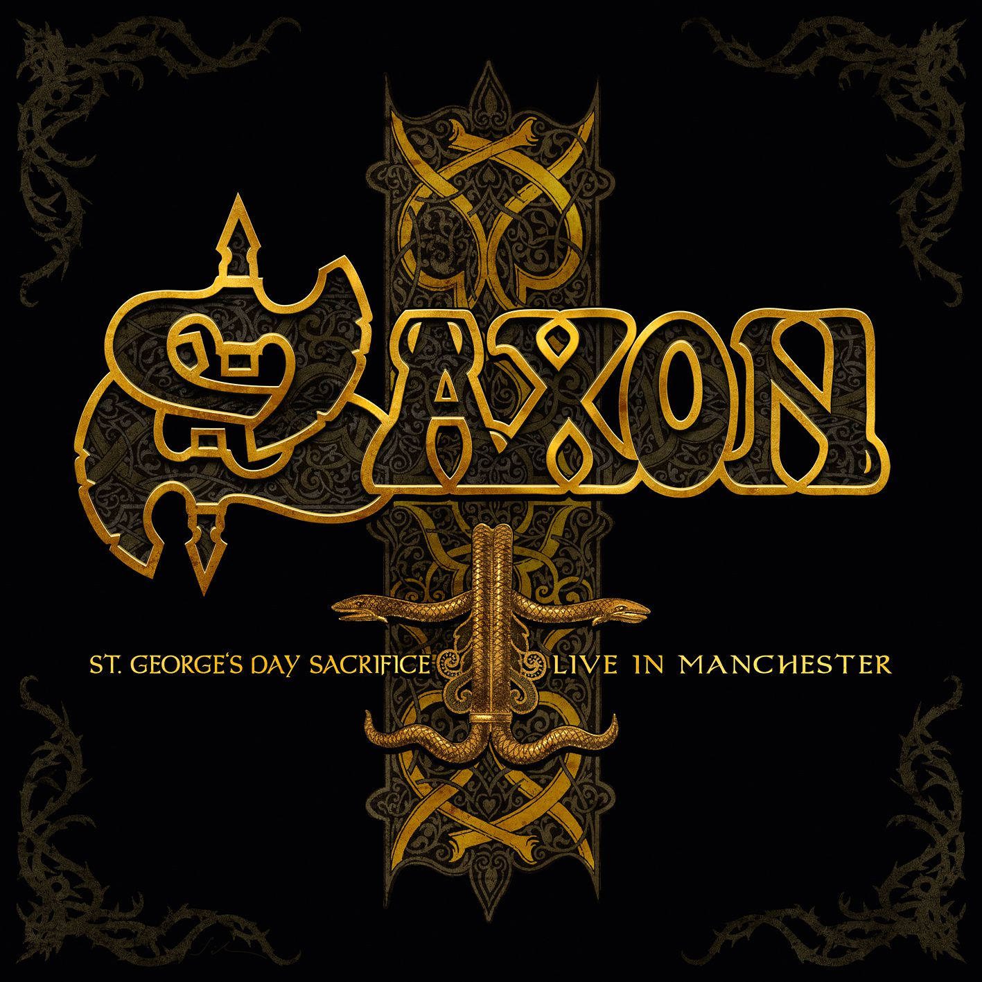 """CD review SAXON """"St. George's Day Sacrifice - Live in Manchester"""""""