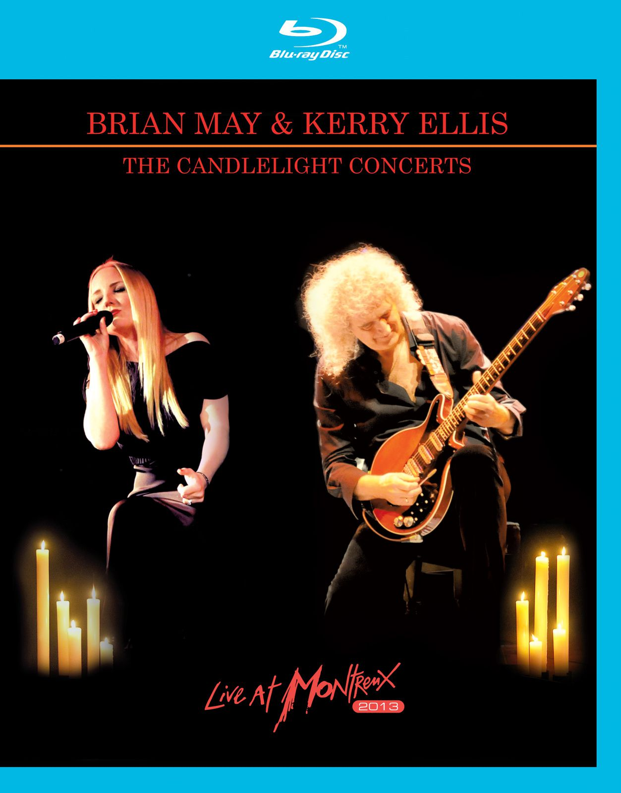 """DVD review BRIAN MAY & KERRY ELLIS """"The candlelight concerts - live at Montreux 2013"""""""