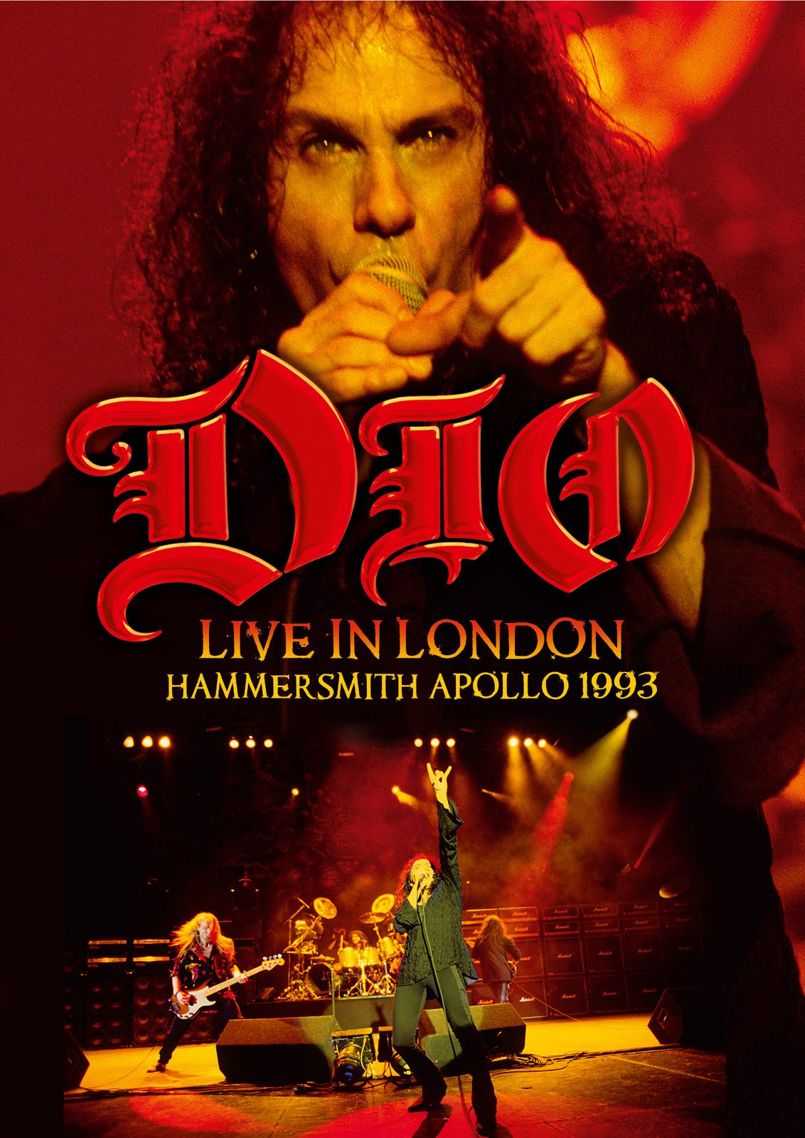 New live DVD from RONNIE JAMES DIO in May
