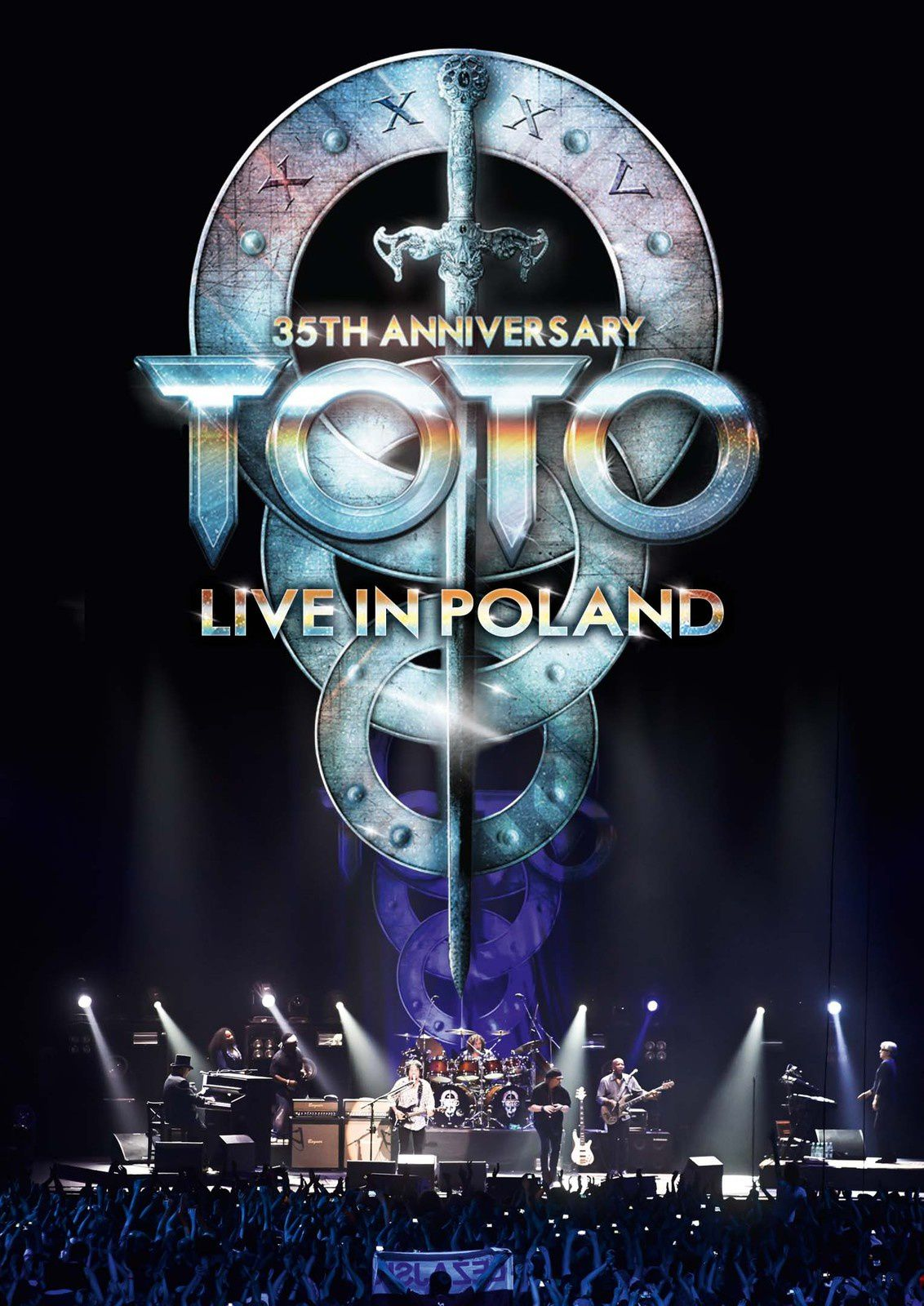 """DVD review TOTO """"35th anniversary tour - live in Poland"""""""