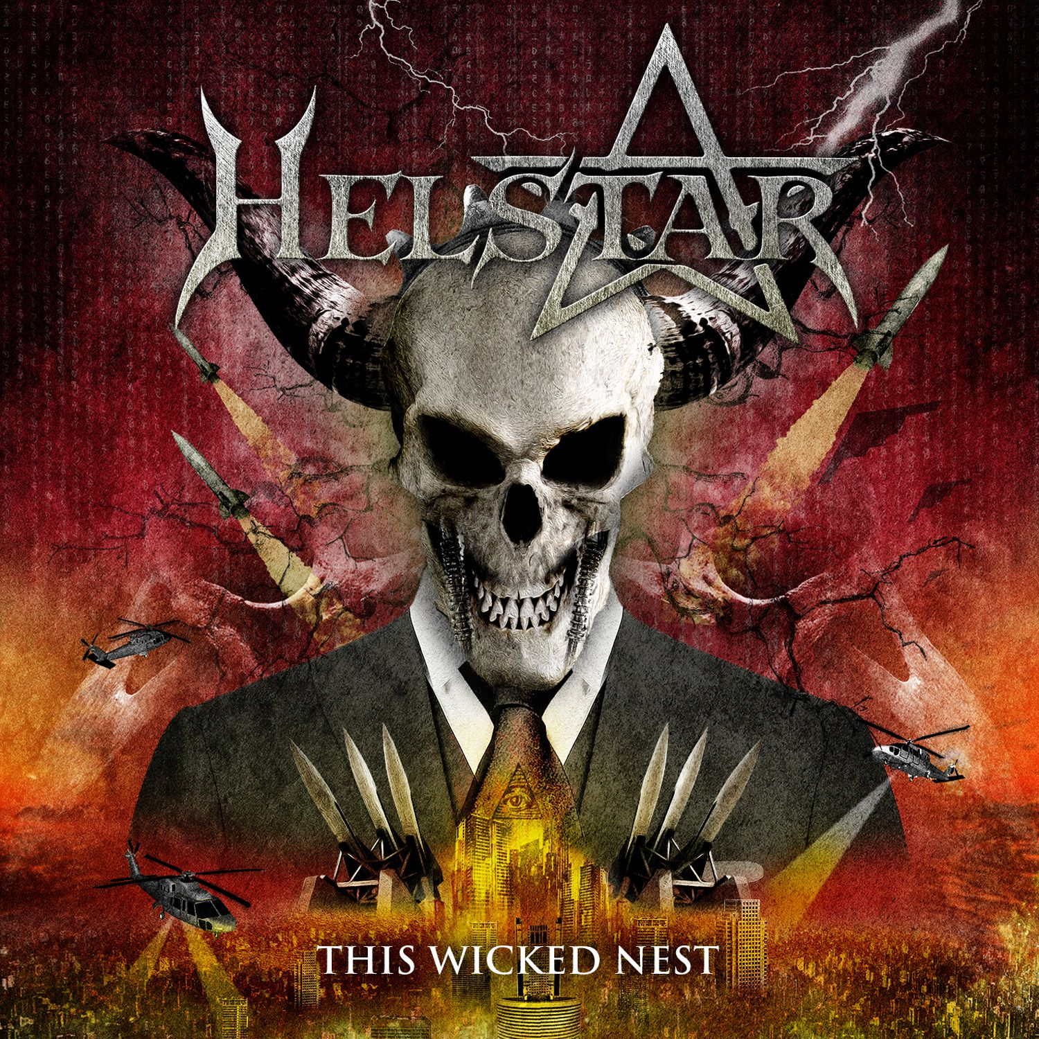 """CD review HELSTAR """"The wicked nest"""""""