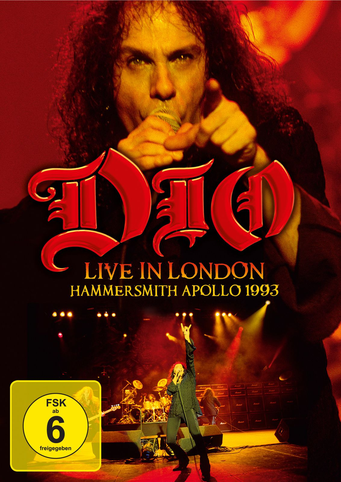 """CD/DVD review DIO """"Live in London - Hammersmith Odeon 1993"""""""