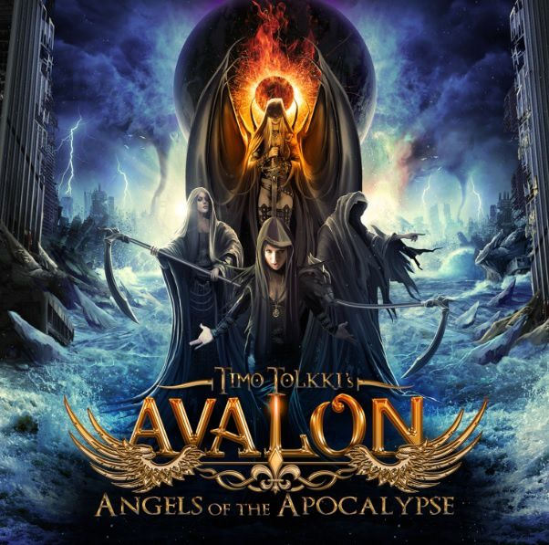 """CD review TIMO TOLKKI'S AVALON """"Angels of the apocalypse"""""""
