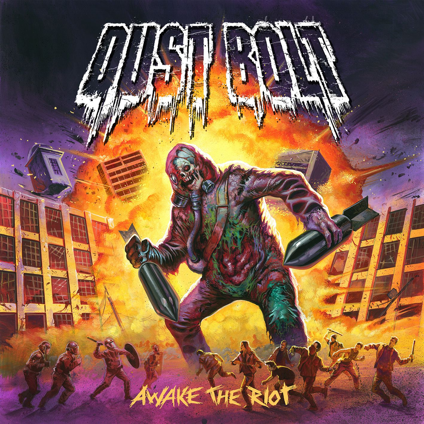 """CD review DUST BOLT """"Awake the riot"""""""