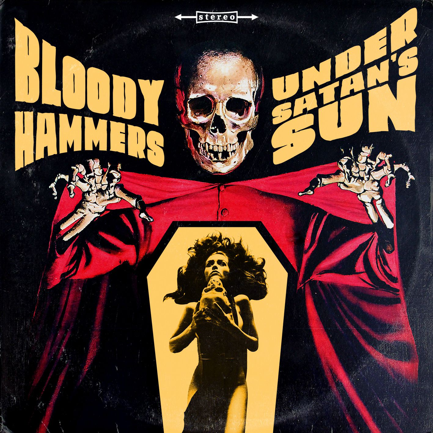 """CD review BLOODY HAMMERS """"Under satan's sun"""""""