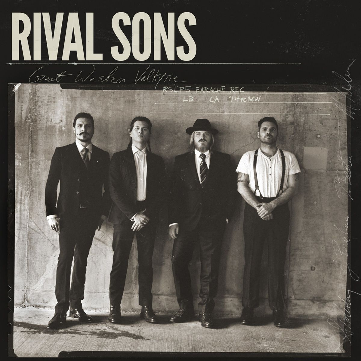 "CD review RIVAL SONS ""Great western valkyrie"""