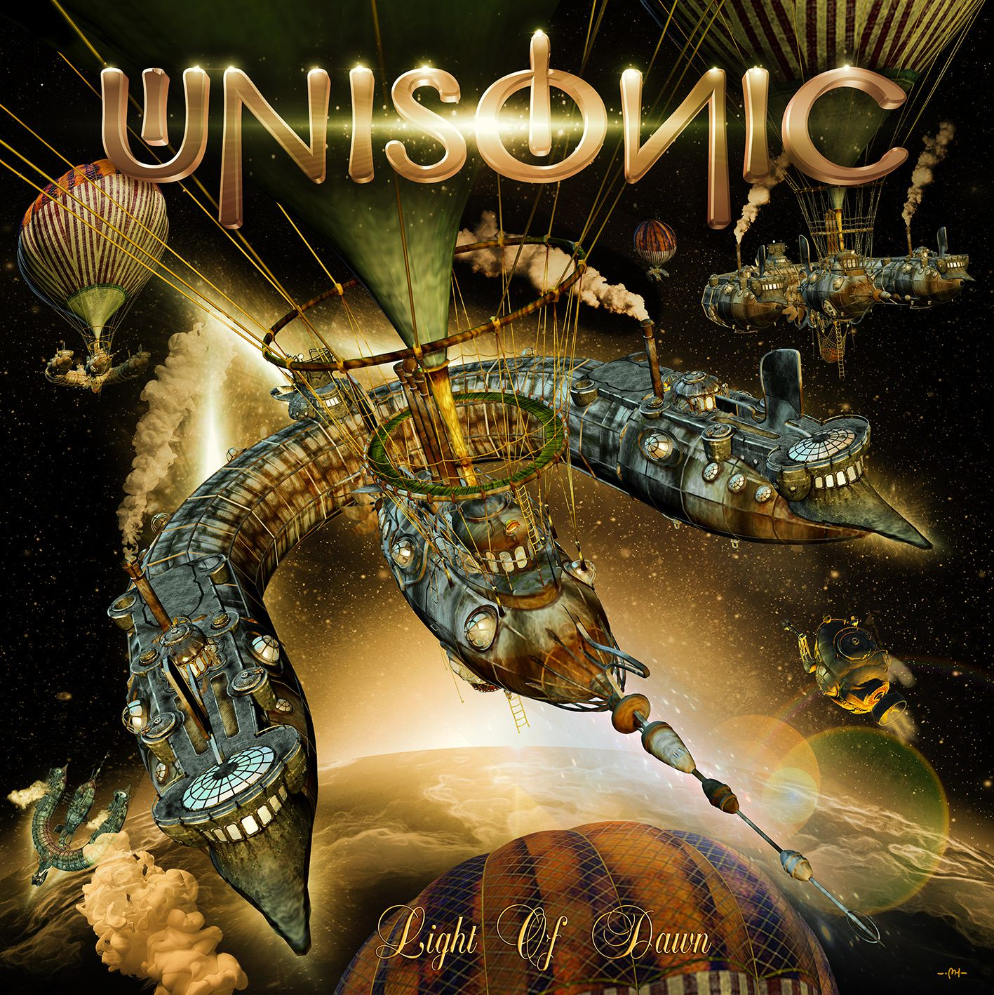 """CD review UNISONIC """"Light of dawn"""""""