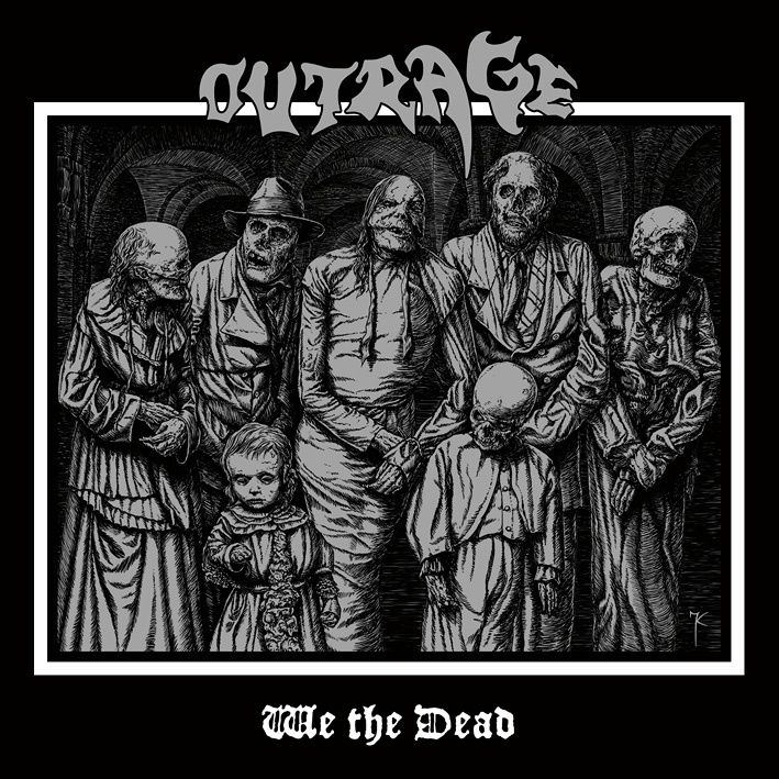 """CD review OUTRAGE """"We the dead"""""""