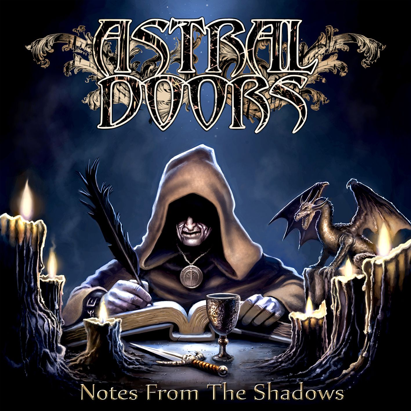 """CD review ASTRAL DOORS """"Notes from the shadows"""""""