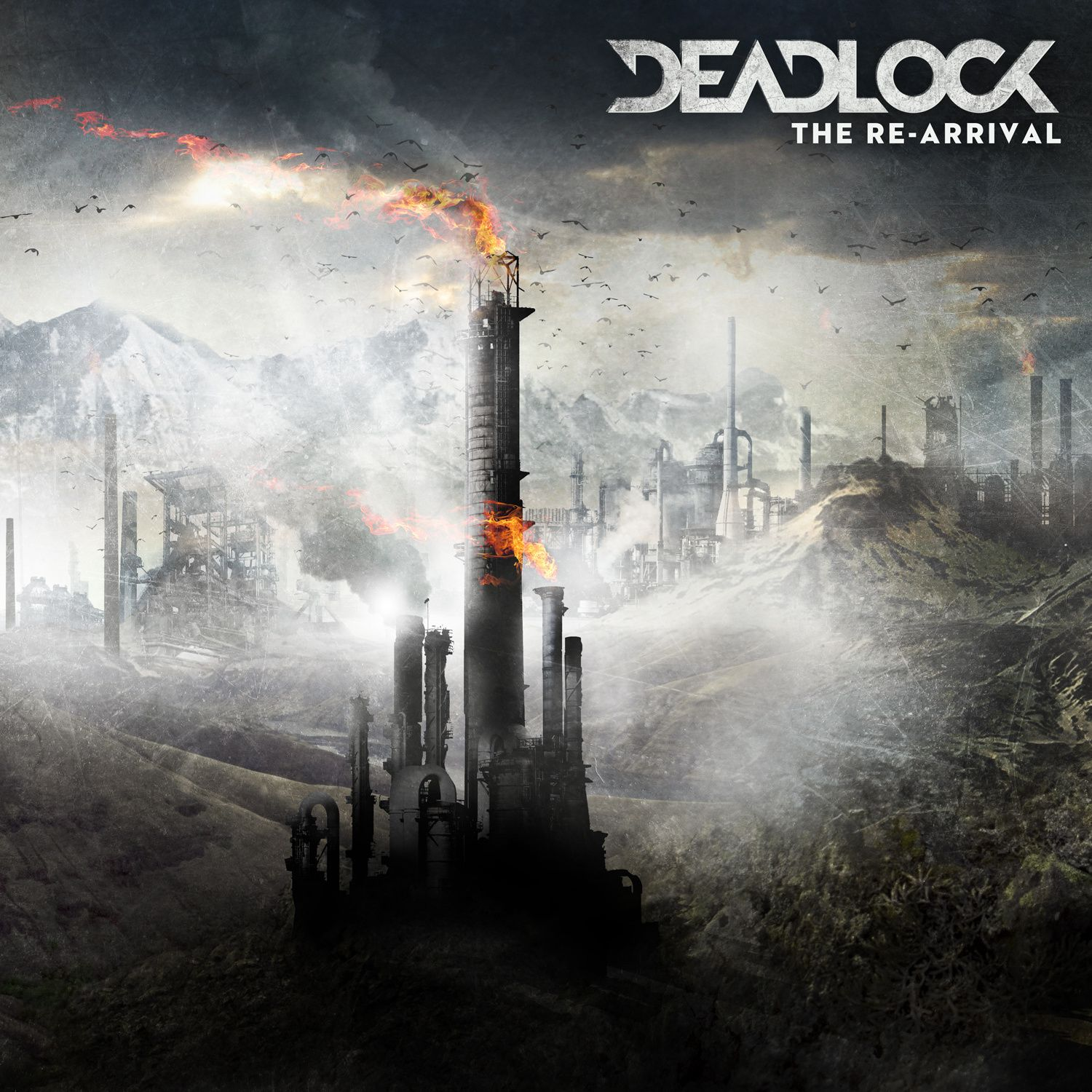 """CD review DEADLOCK """"The re-arrival"""""""