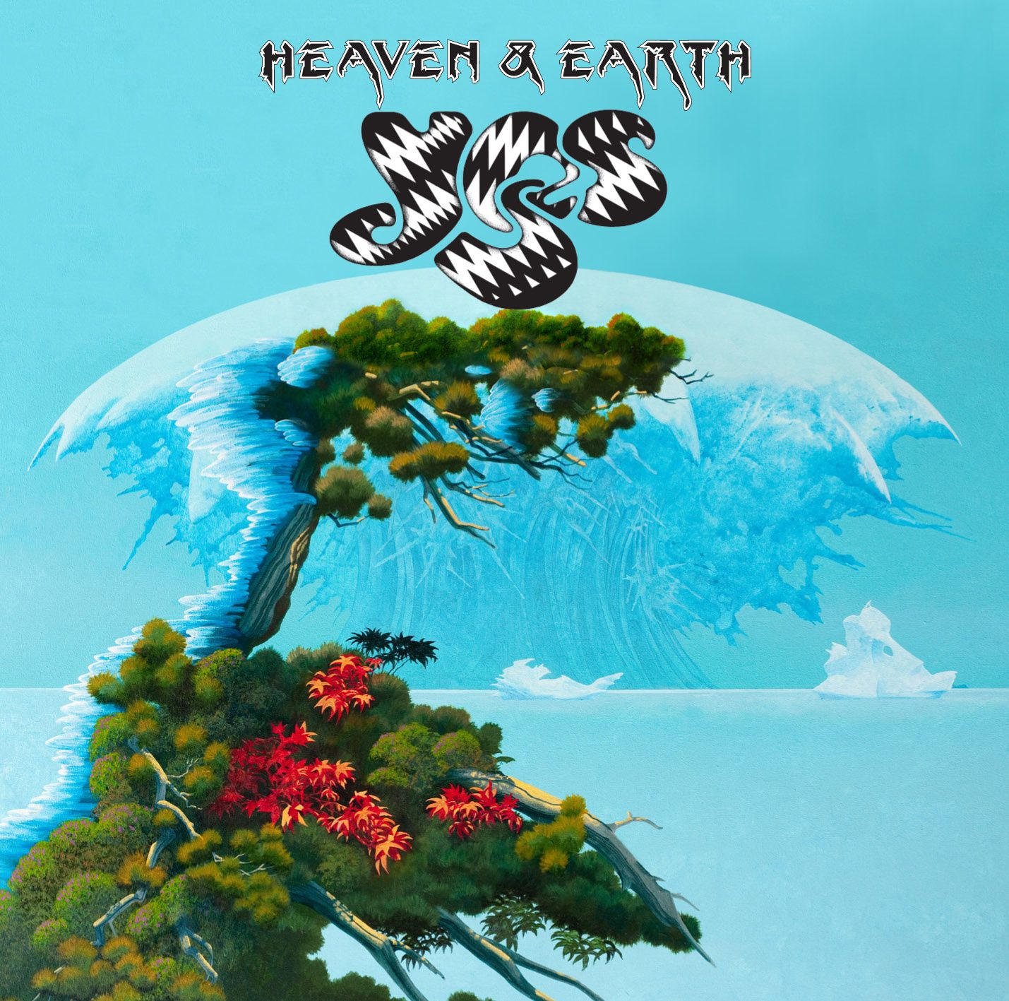 """CD review YES """"Heaven & earth"""""""