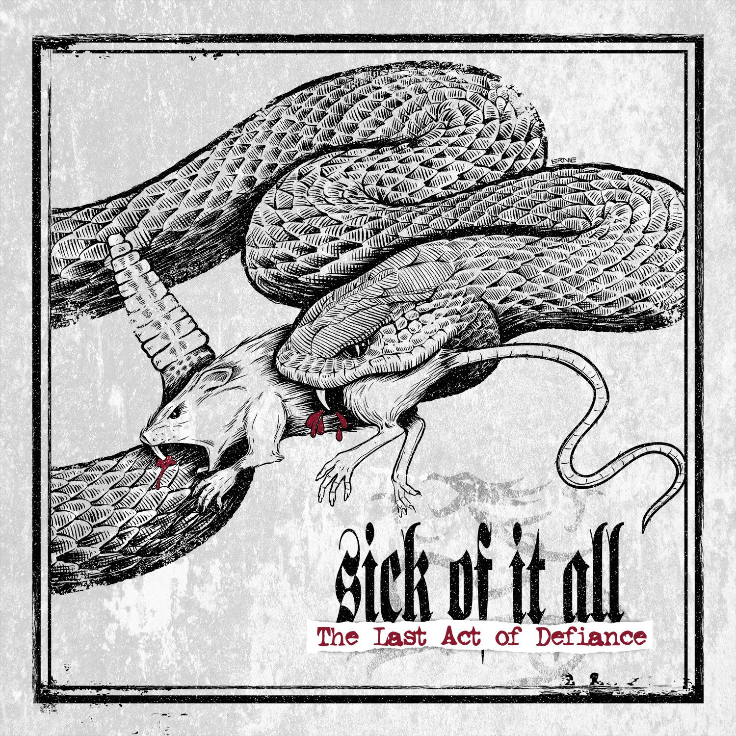 Tracklist & cover from the upcoming SICK OF IT ALL album