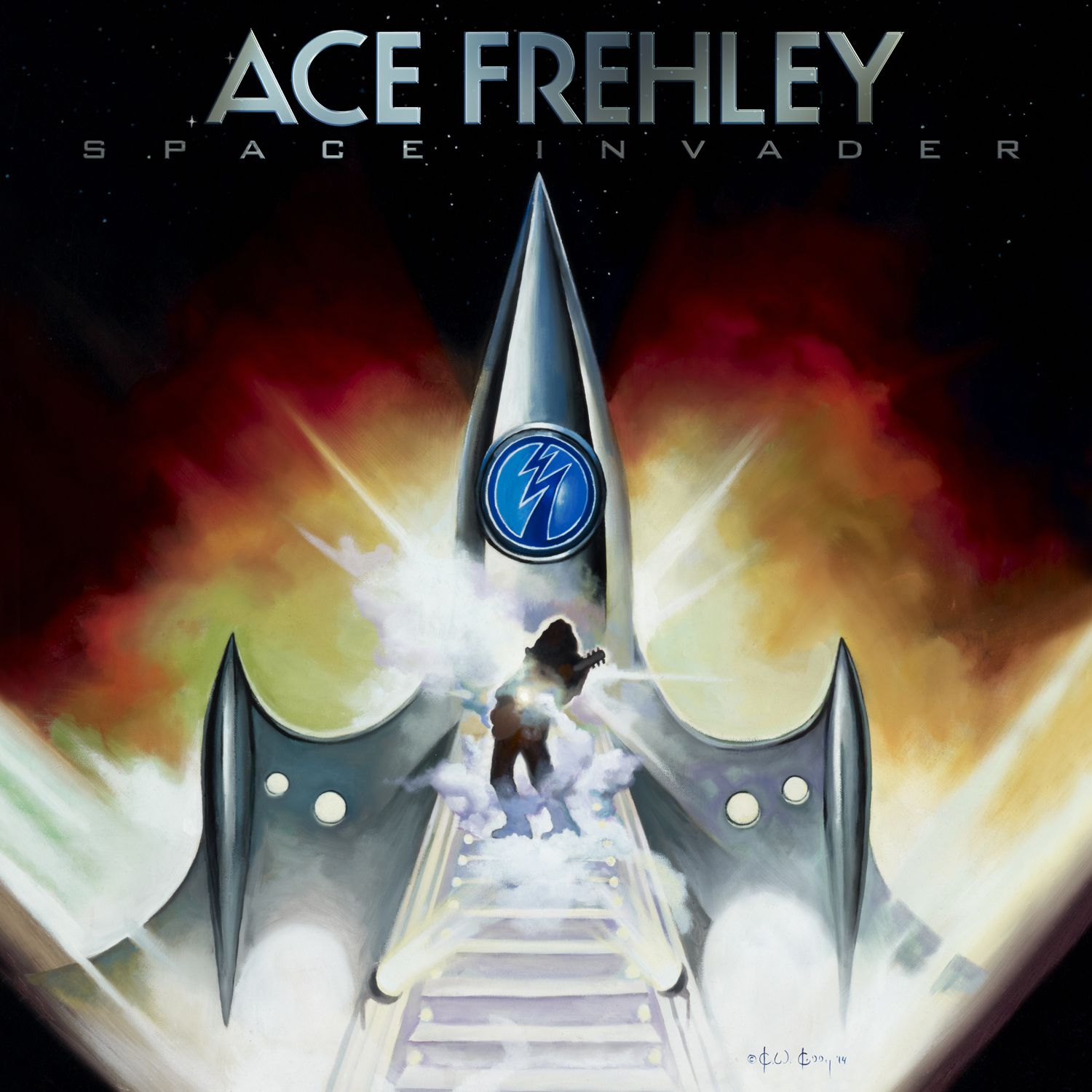"""CD review ACE FREHLEY """"Space invaders"""""""