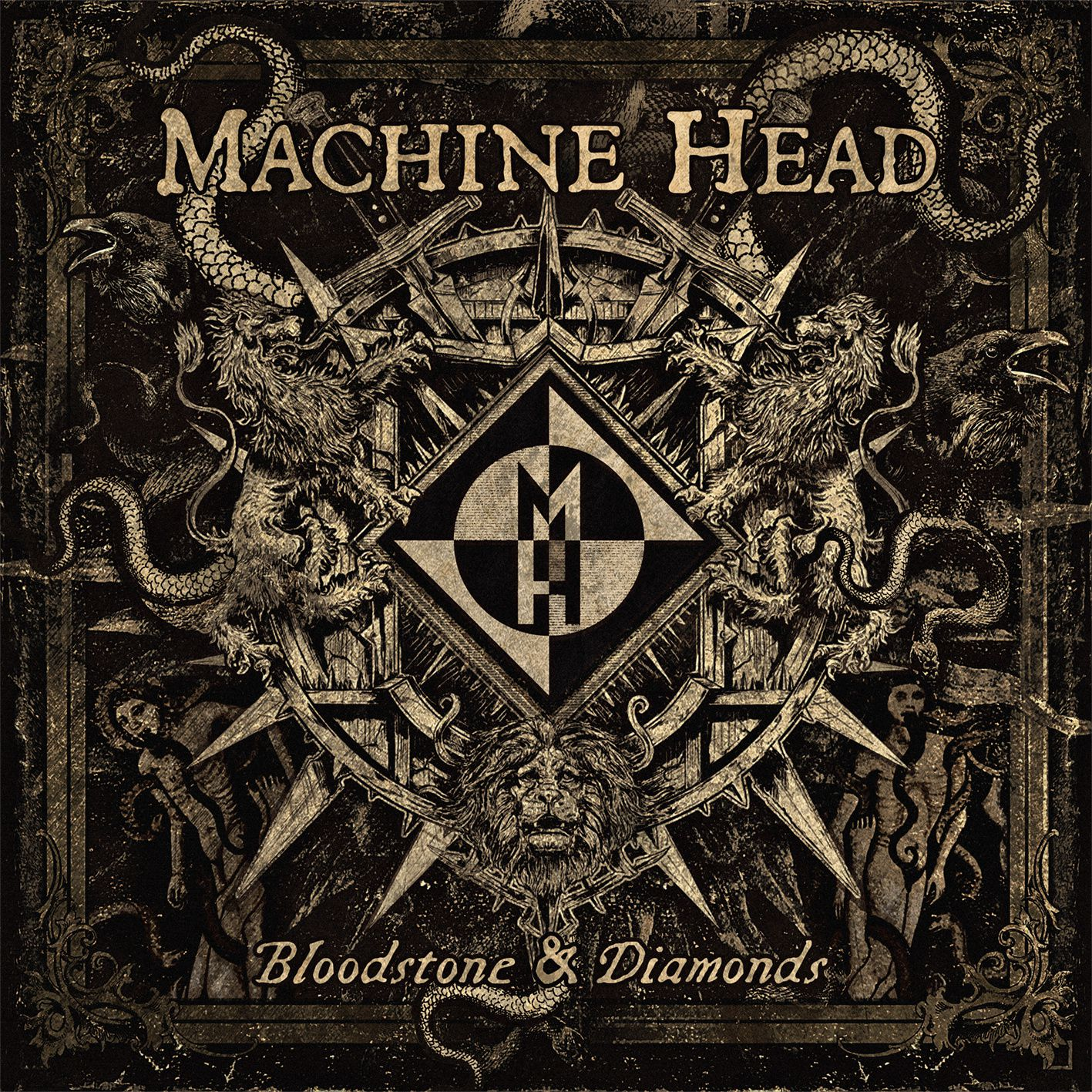 News from MACHINE HEAD - about the new album