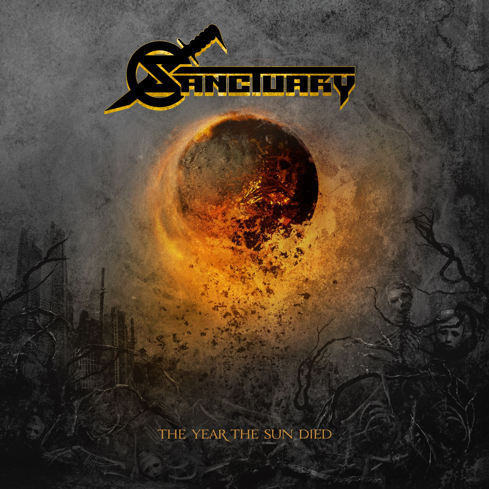 """CD review SANCTUARY """"The year the sun died"""""""