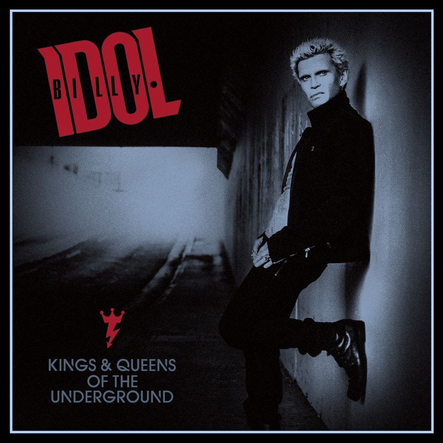 Cover of the new BILLY IDOL album