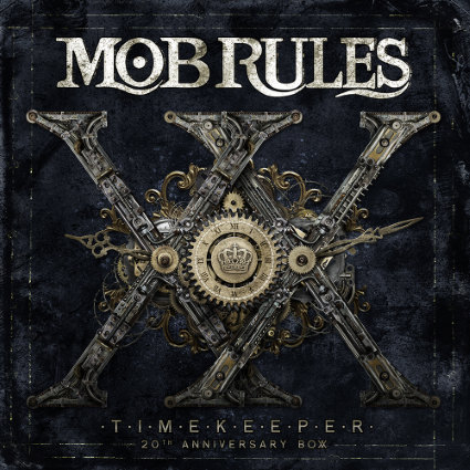"""CD review MOB RULES """"Timekeeper - 20th anniversary box"""""""