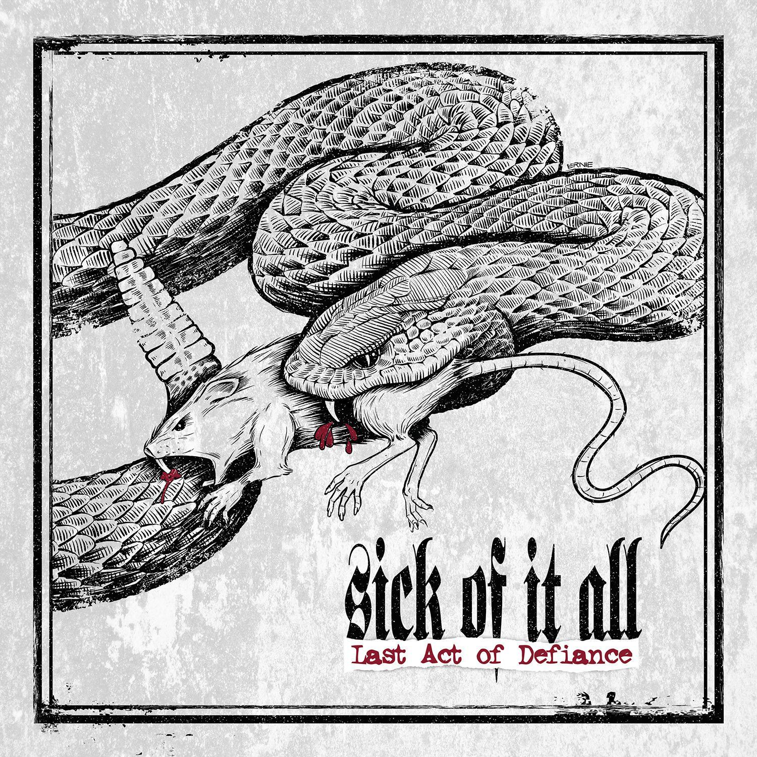 """CD review SICK OF IT ALL """"Last act of defiance"""""""